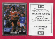 Manchester United Bryan Robson England 170